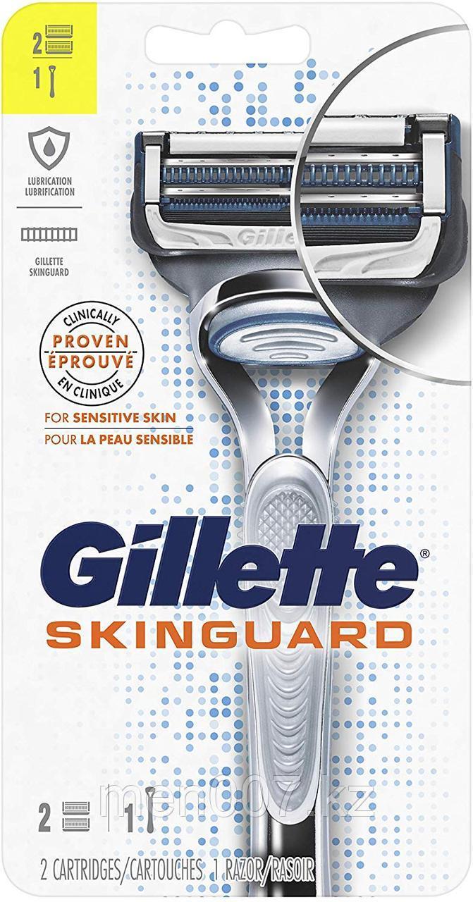 Gillette SkinGuard с двумя запасными картриджами для чувствительной кожи