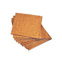 Пробковые прокладки для стекла 18*18*3мм., в листах 121 шт.