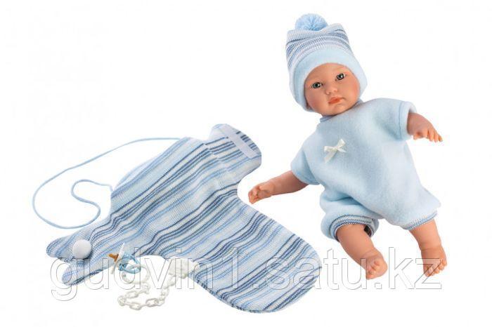 LLORENS: Кукла малышка 30 см с конвертом-переноской 30007