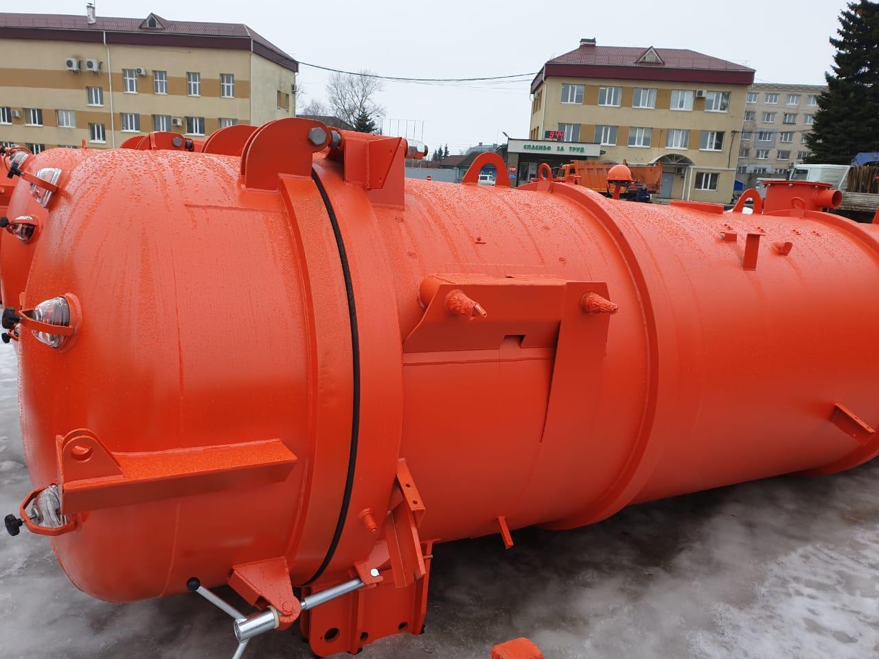 Цистерна КО-507АM.21.01.000