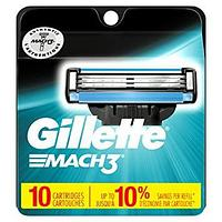Gillette Mach 3  (10 кассет) США