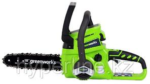 Электропила цепная Greenworks GD24CSK2