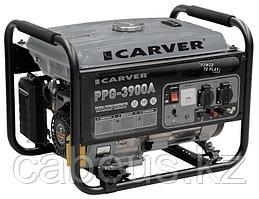 Генератор бензиновый CARVER PPG- 3900АE (LT-170F, 2,9/3,2кВт, 220В, бак 15л, электрический стартер)