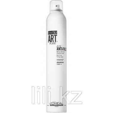 Спрей для сильной фиксации с защитой от влаги L`oreal Professionnel Tecni.art Fix Anti-Frizz 400 мл.