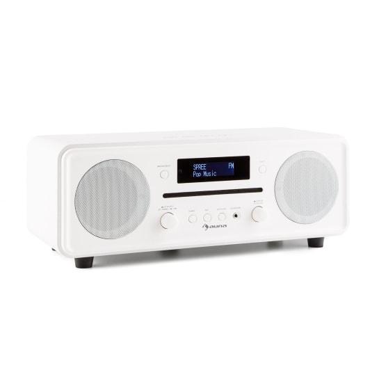 Мелодия CD DAB + / FM настольное радио CD проигрыватель, Bluetooth, будильник