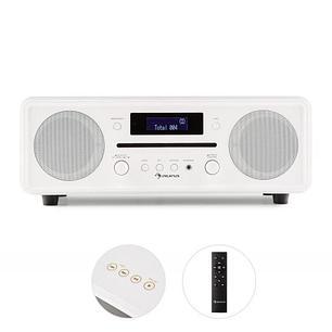 Мелодия CD DAB + / FM настольное радио CD проигрыватель, Bluetooth, будильник, фото 2