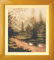 Набор для вышивания Чарівна Мить А-131 «Закат в лесу»