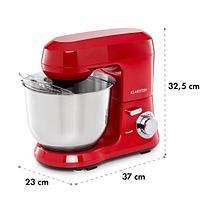 Металлическая кухонная машина Bella Robusta 1200 Вт 6 уровней 5,5 литров, фото 2