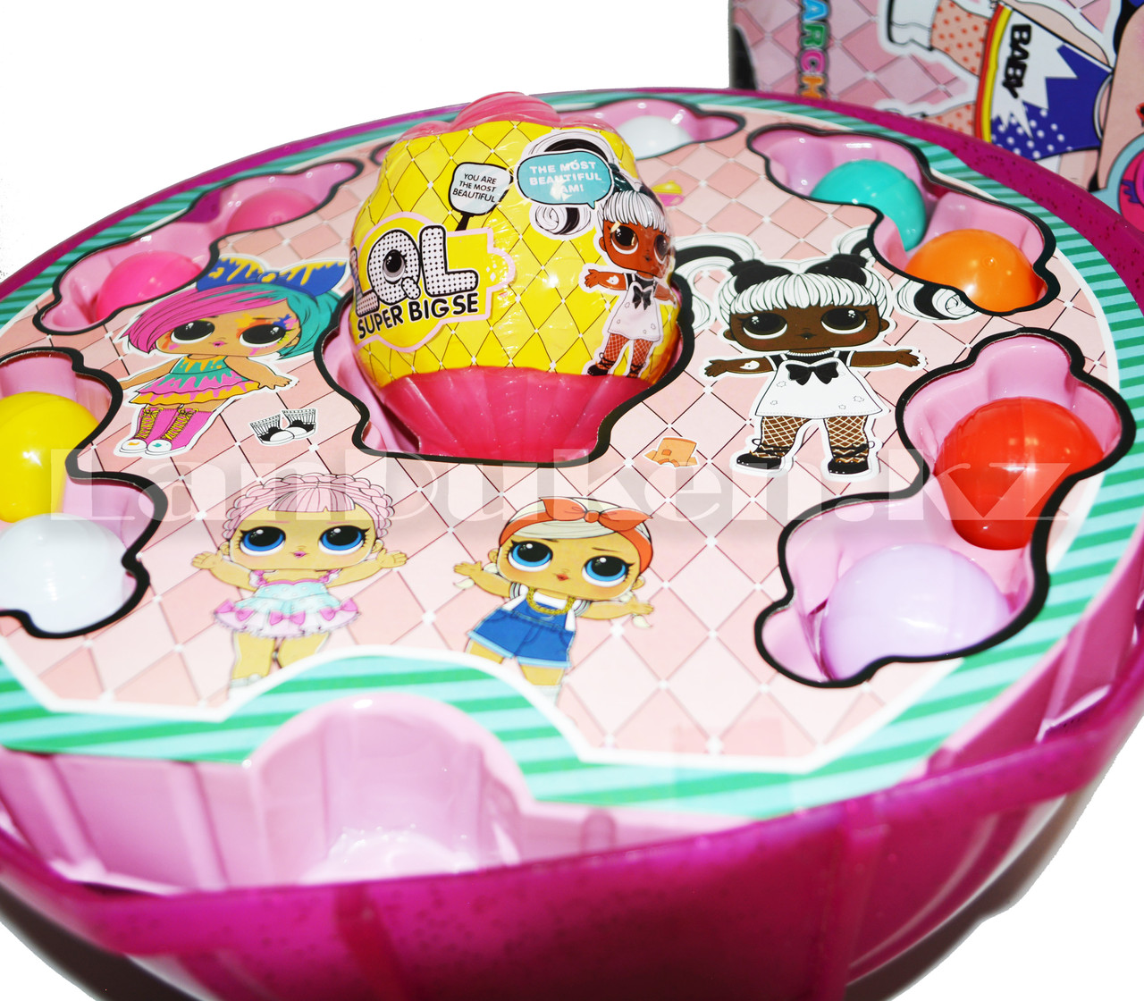 Большой шар сюрприз Big Lol Surprise кукла лол и аксессуары 45+ (series 38) в ассортименте - фото 3