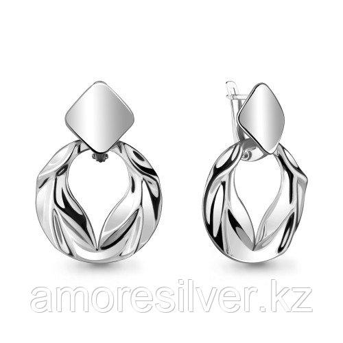 Серьги из серебра  Aquamarine 33712.5