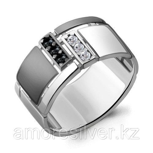 Серебряное кольцо с фианитом и шпинелью    Aquamarine 68606АЧ.5