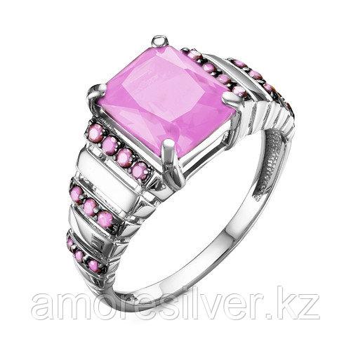 Серебряное кольцо с фианитом   Teosa 1000-0299-ROD-k