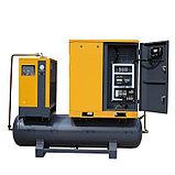 Винтовой компрессор APB-10A-500-AP, -1,1куб.м, 7,5кВт, AirPIK, фото 4