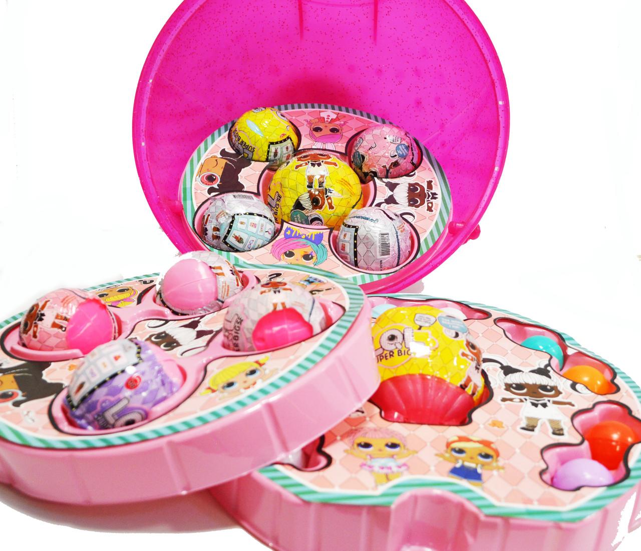 Большой шар сюрприз Big Lol Surprise кукла лол и аксессуары 45+ (series 38) в ассортименте - фото 4
