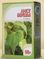 Лист березы повислой 50 гр