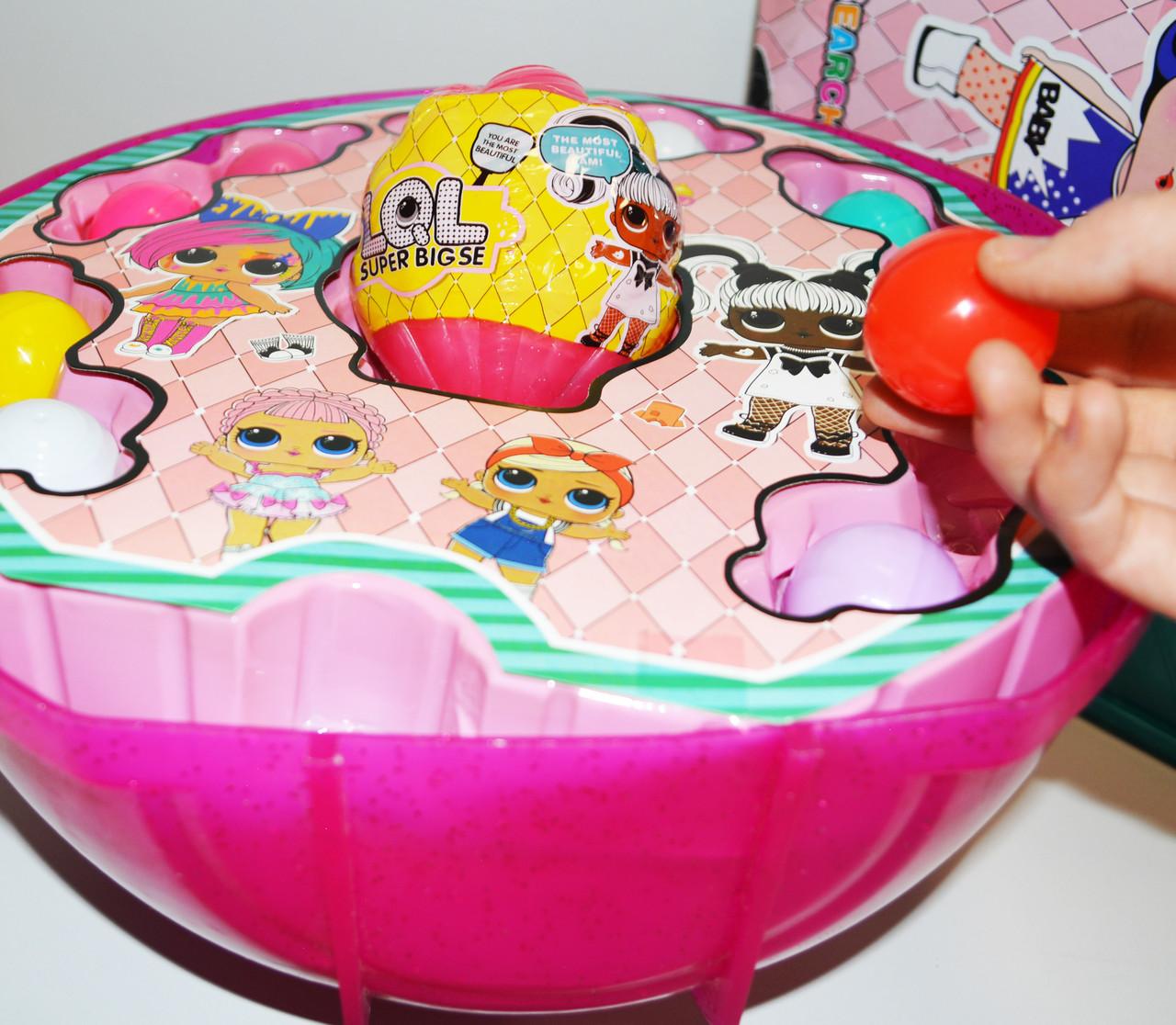 Большой шар сюрприз Big Lol Surprise кукла лол и аксессуары 45+ (series 38) в ассортименте - фото 6