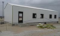 Офисные модульные здания из сэндвич-панелей