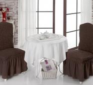 "Чехлы на стулья 1/2 ""BULSAN"", фото 7"