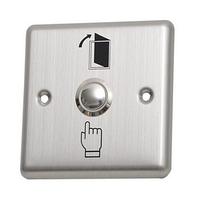 Металлическая кнопка выхода/управления электромагнитным замком, DE02