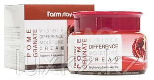 Крем для лица с экстрактом граната от FarmStay