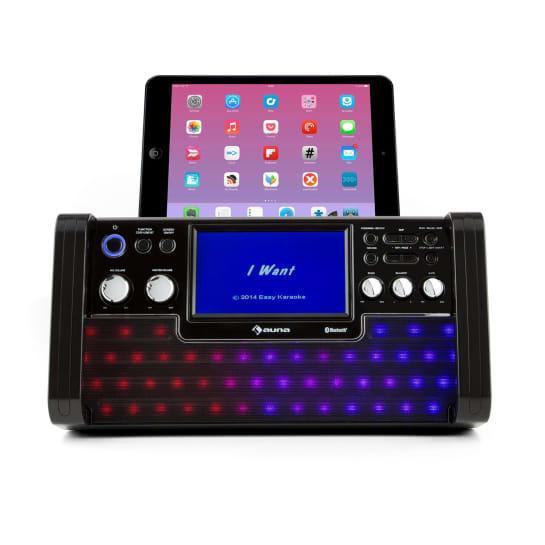 Bluetooth караоке-система DiscoFever LED TFT-экран CD USB