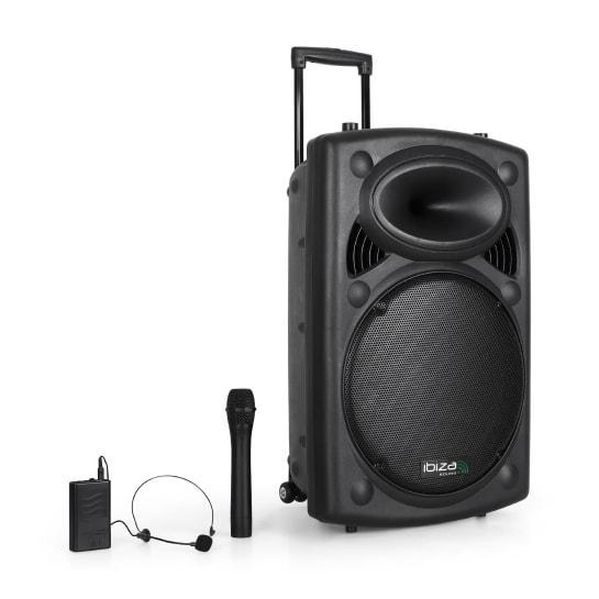 Мобильная аккустическая  система Ibiza Port15VHF-BT