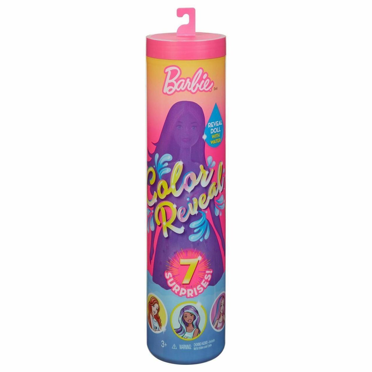 """Barbie """"Цветное перевоплощение"""" Кукла-сюрприз Барби, Color Reveal 1 серия"""