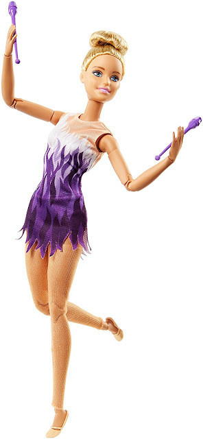 """Barbie """"Безграничные движения"""" Кукла Барби Блондинка - Гимнастка"""