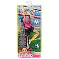 """Barbie """"Безграничные движения"""" Кукла Барби Блондинка - Футболистка, фото 2"""
