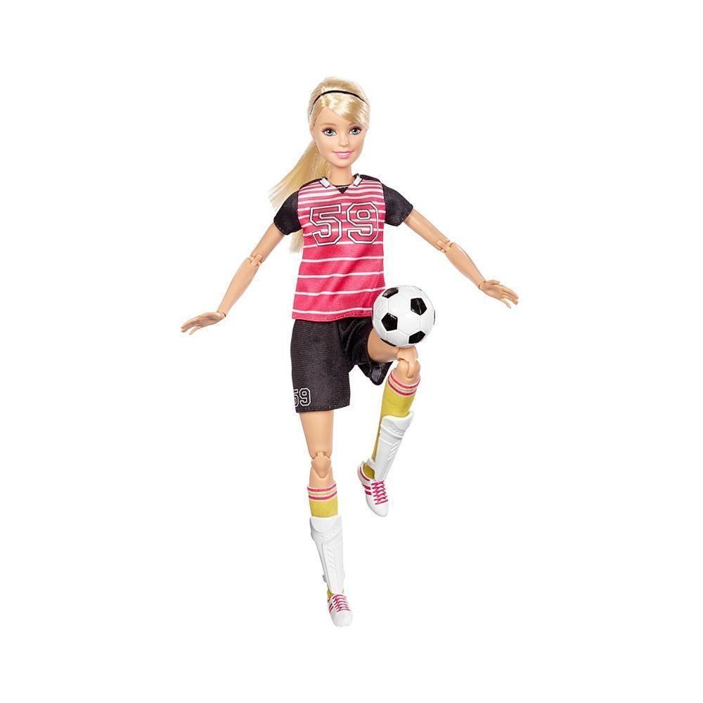 """Barbie """"Безграничные движения"""" Кукла Барби Блондинка - Футболистка"""