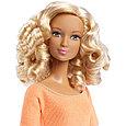 """Barbie """"Безграничные движения"""" Кукла Барби Блондинка в персиковом, фото 4"""