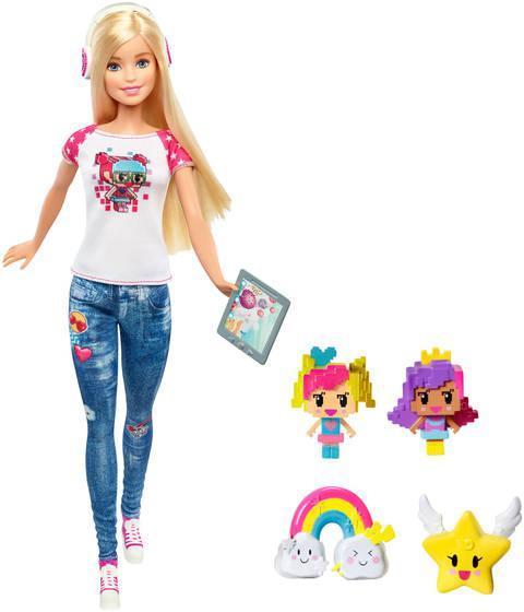 """Barbie """"Виртуальный мир"""" Куколка Барби с друзьями"""