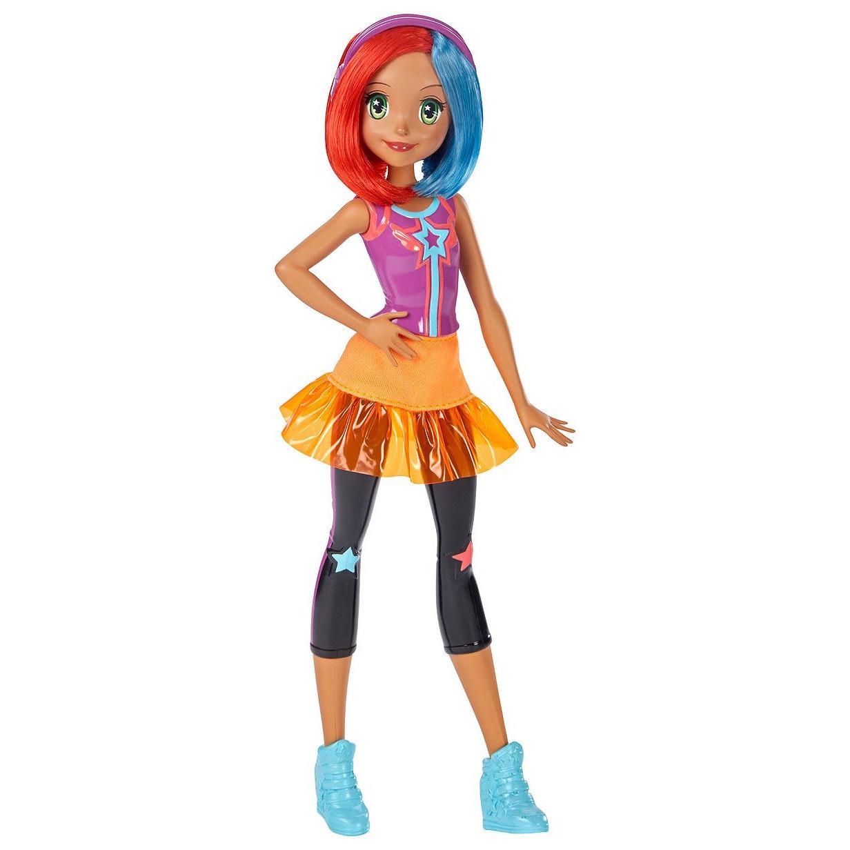 """Barbie """"Виртуальный мир"""" Куколка в розовых наушниках"""