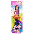 """Barbie """"Виртуальный мир"""" Куколка в розовых наушниках, фото 2"""