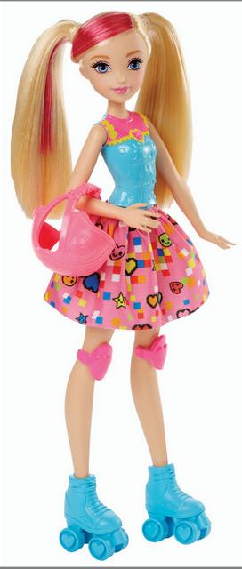 """Barbie """"Виртуальный мир"""" Куколка Скейтер (свет)"""