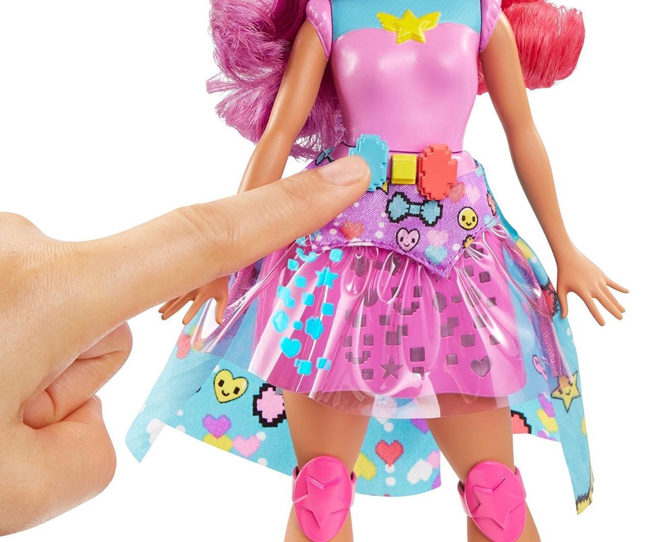 """Barbie """"Виртуальный мир"""" Принцесса (свет, звук)"""