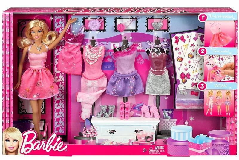 """Barbie """"Высокая мода"""" Кукла Барби с дополнительным набором одежды"""