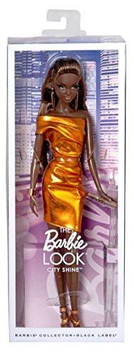 """Barbie """"Городское сияние"""" Коллекционная кукла Барби, Бронзовое платье"""