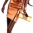 """Barbie """"Городское сияние"""" Коллекционная кукла Барби, Бронзовое платье, фото 2"""