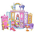 """Barbie """"Дримтопиа"""" Игровой набор - Переносной радужный дворец с куклой, Барби, фото 2"""