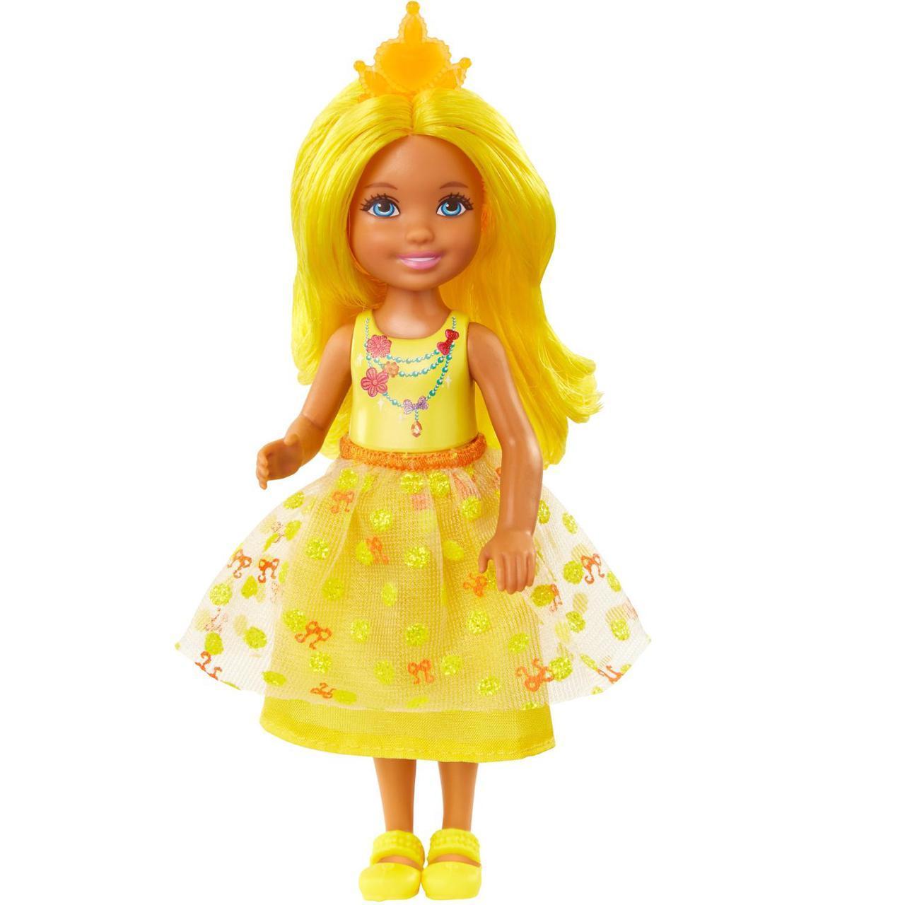 """Barbie """"Дримтопиа"""" Кукла Барби Малышка, Жёлтая"""