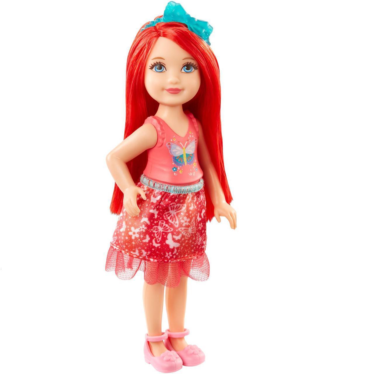 "Barbie ""Дримтопиа"" Кукла Барби Малышка, Красная"