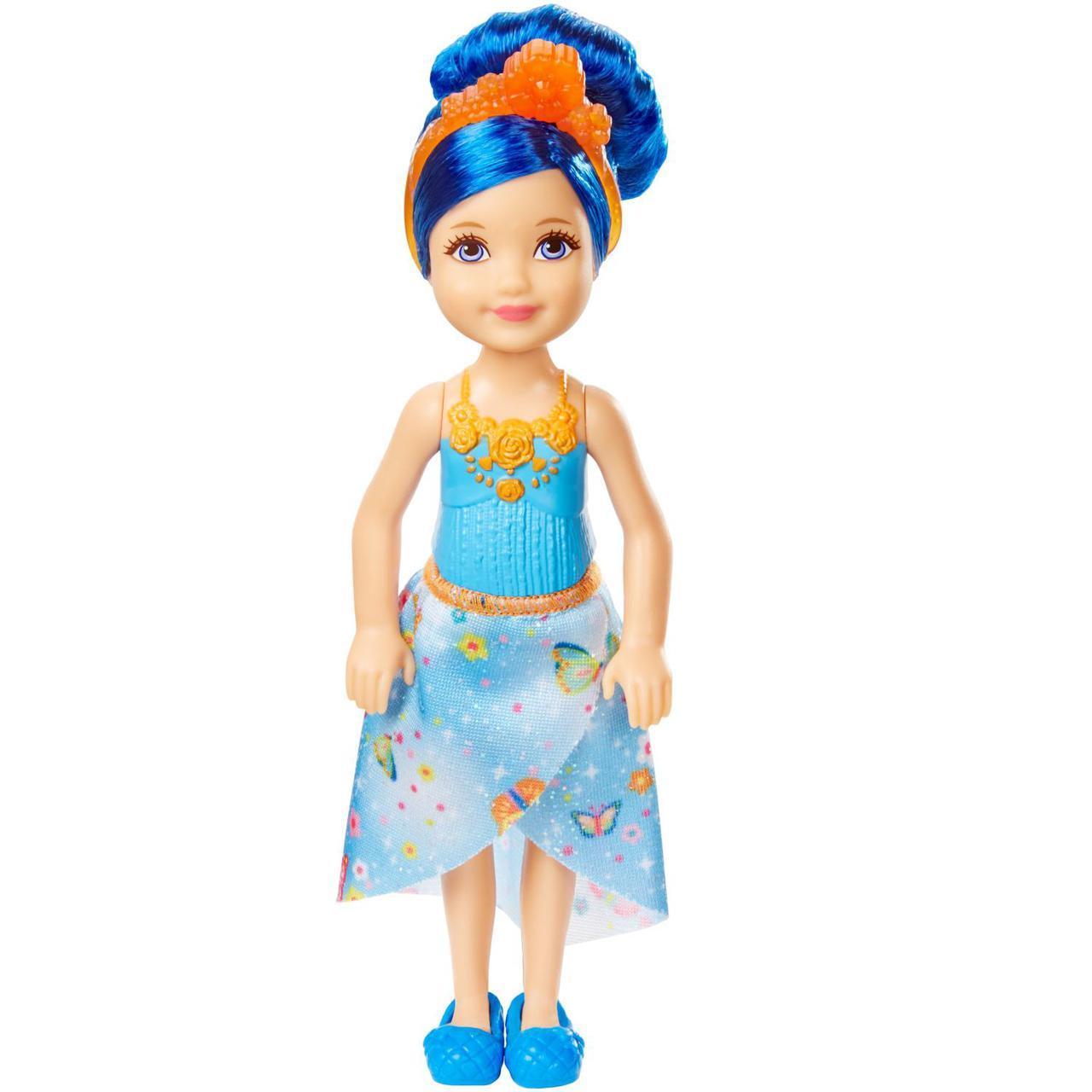 "Barbie ""Дримтопиа"" Кукла Барби Малышка, Синяя"