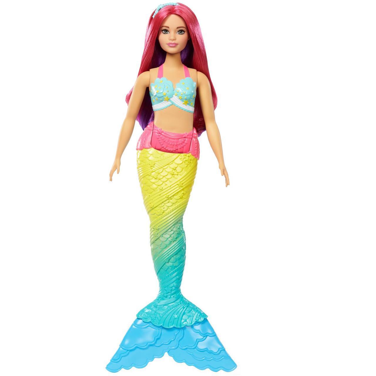 "Barbie ""Дримтопиа"" Кукла Барби Русалка (розовые волосы)"