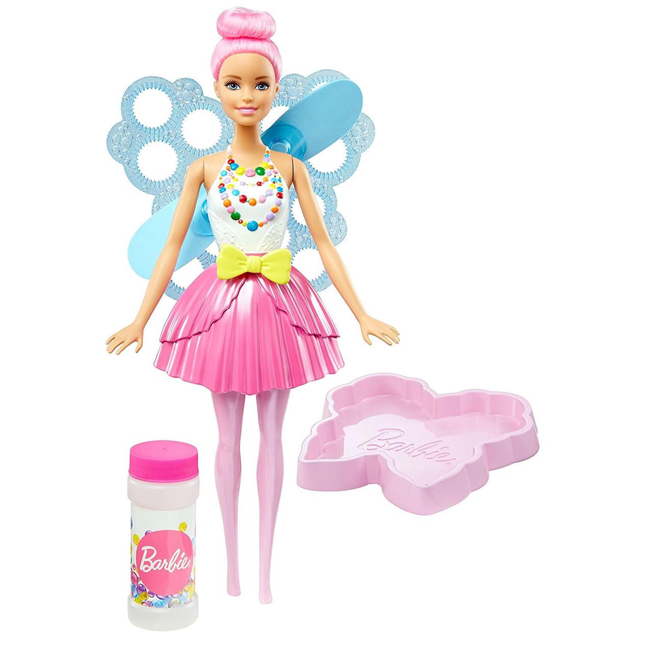 """Barbie """"Дримтопиа"""" Кукла Барби Фея с волшебными пузырьками - Стильная"""