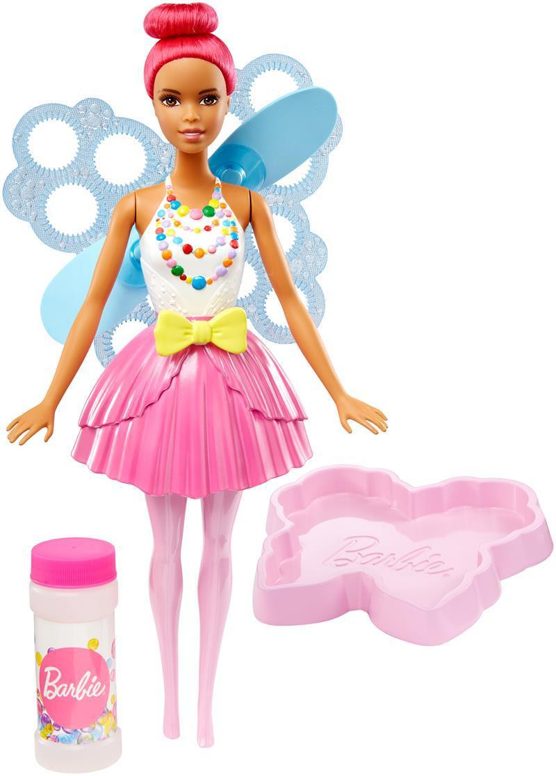 """Barbie """"Дримтопиа"""" Кукла Барби Фея с волшебными пузырьками (красные волосы)"""