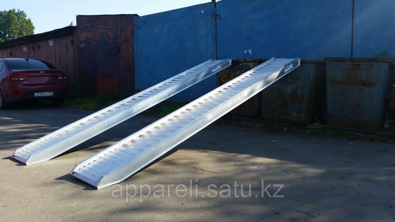 Производство 4900 кг сходни алюминиевые