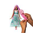 "Barbie ""Дримтопиа"" Принцесса с волшебными волосами, Кукла Барби шатенка, фото 3"