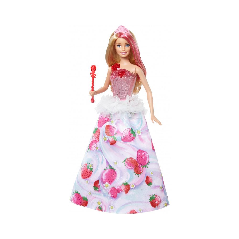 """Barbie """"Дримтопия"""" Кукла Барби Конфетная принцесса (свет, звук)"""