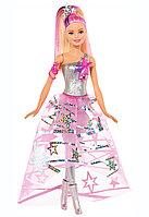 """Barbie """"Звездные приключения"""" Кукла Барби в звездном платье"""